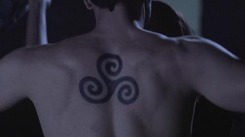 Triskle tattoo